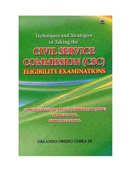 Civil Service Comission(CSC) Eligibility Examination