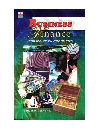 Business Finance (Phil. Environment)
