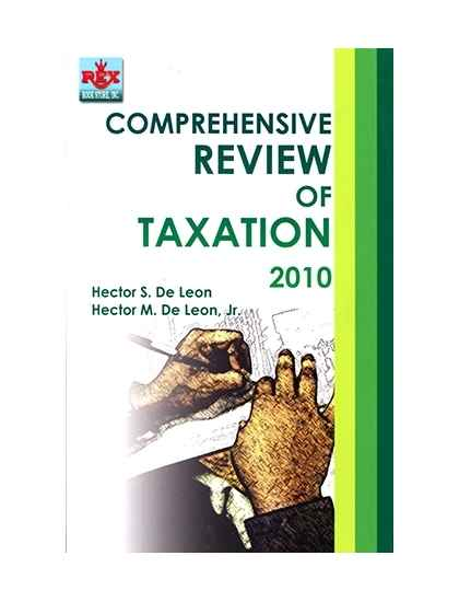 Comprehensive Review of Taxation.