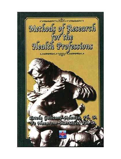 Methods of Research for the Health Professions