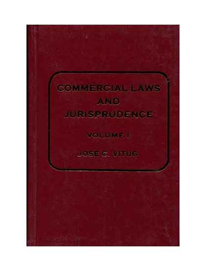 Commercial Law and Jurisprudence I