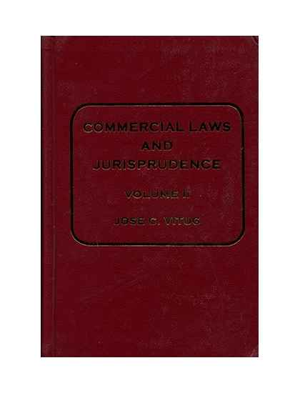 Commercial Law and Jurisprudence II
