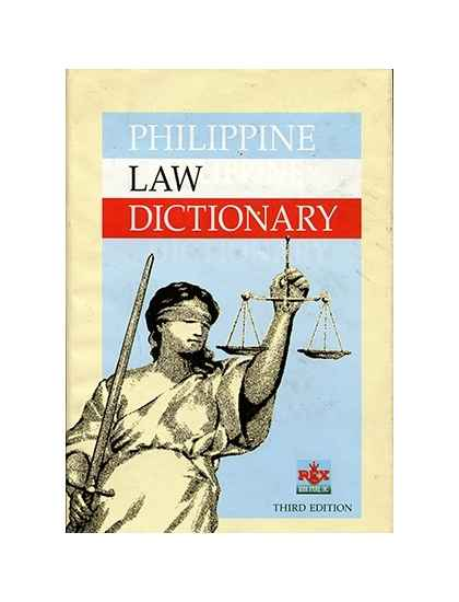 Philippine Law Dictionary
