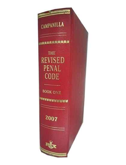 The Revised Penal Code, Book I