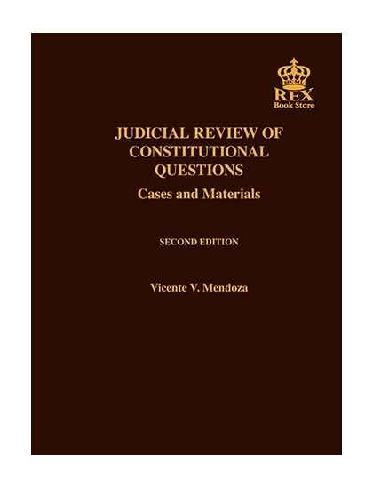 Judicial Review of Constitutional Questions(Revised Edition)