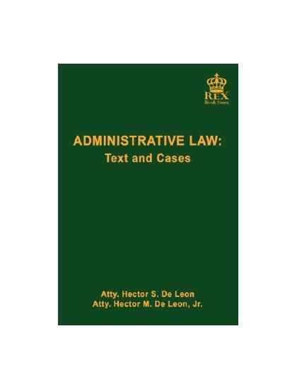 Administrative Law: Text and Cases(Revised Edition)