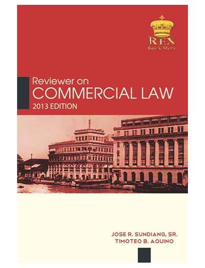Reviewer on Commercial Law
