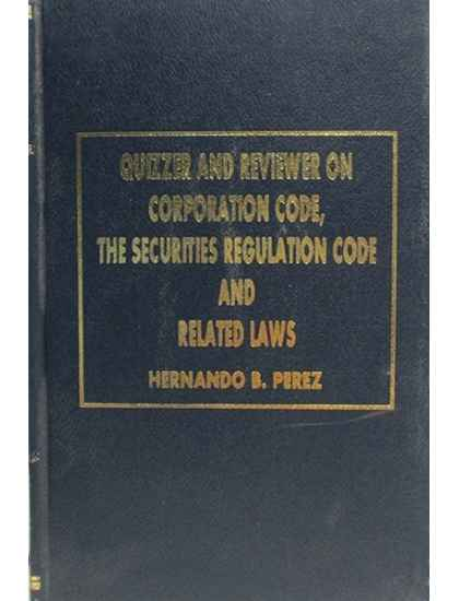 Quizzer and Reviewer On Corporate Code, Securities Code