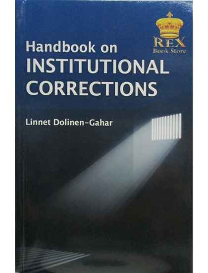 Handbook on Institutional Corrections