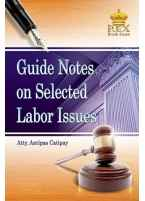 Guide Notes on Selected Labor Issues