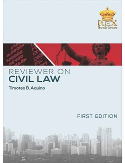 Reviewer on Civil Law