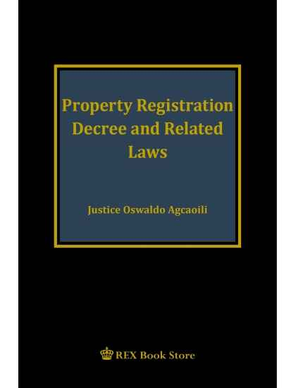 Property Registration Decree and Related Laws