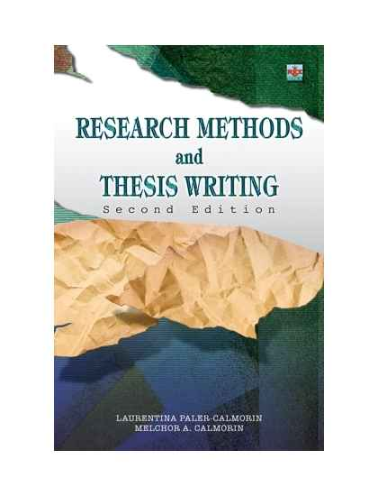 Methods of research and thesis writing by calderon ebook