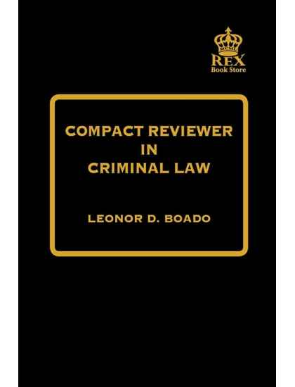 Compact Reviewer in Criminal Law [PDF]