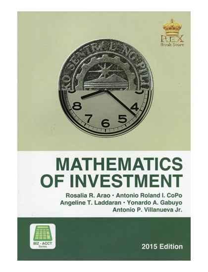 Mathematics of Investment