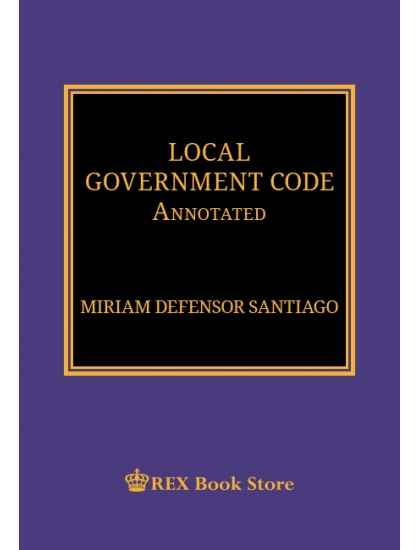 Local Government Code Annotated