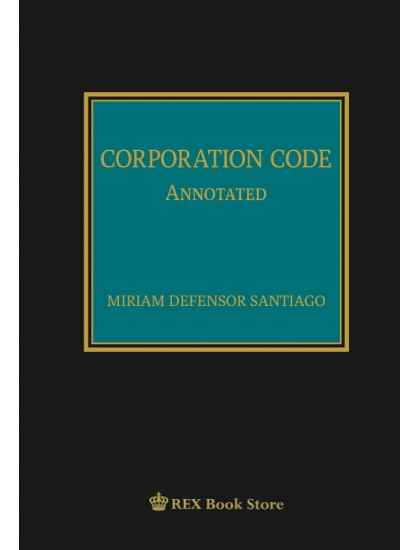 Corporation Code Annotated [Clothbound]