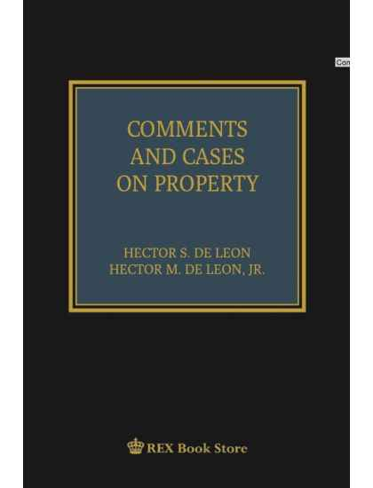 Comments and Cases on Property [Clothbound]