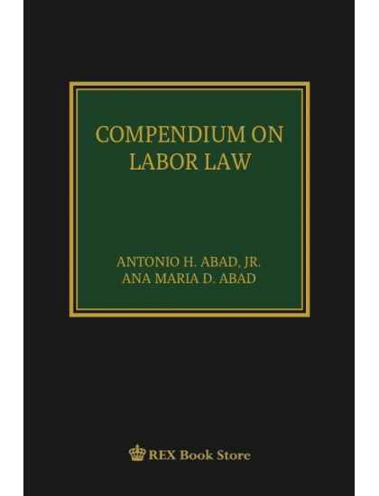 Compendium on Labor Law [Clothbound]