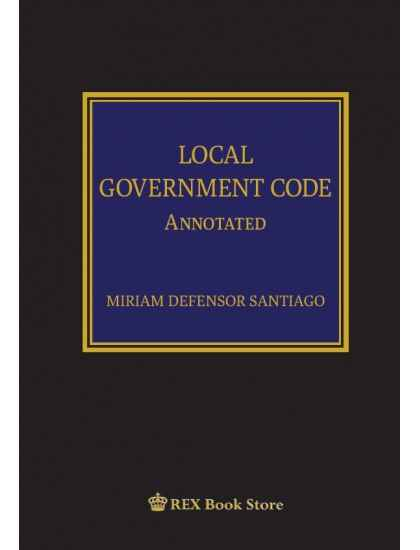 Local Government Code Annotated [Clothbound]