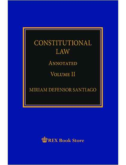 Constitutional Law Annotated Vol. II [Paperbound]