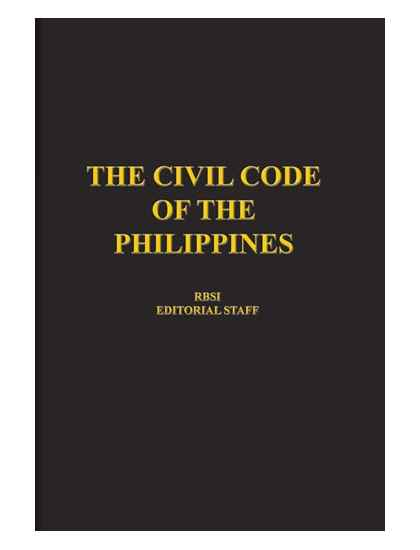 the civil code of the philippines The civil code of the philippines - ebook download as word doc (doc / docx), pdf file (pdf), text file (txt) or read book online.