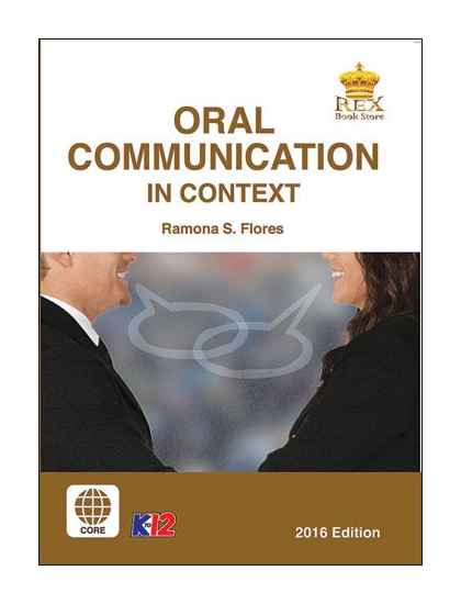 Oral Communication In Context