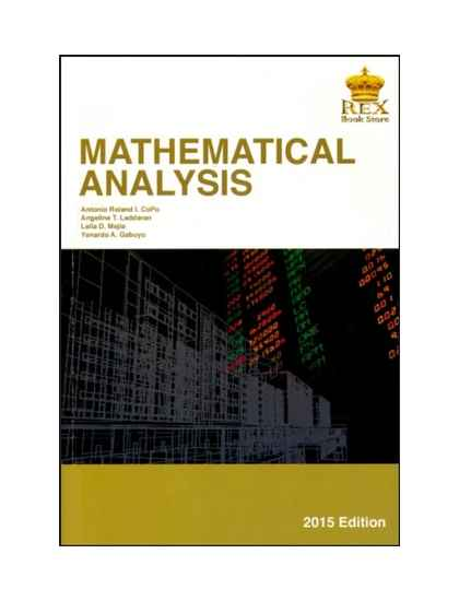 Mathematical Analysis (OBE Aligned)