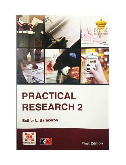 practical research  senior high school rex book store