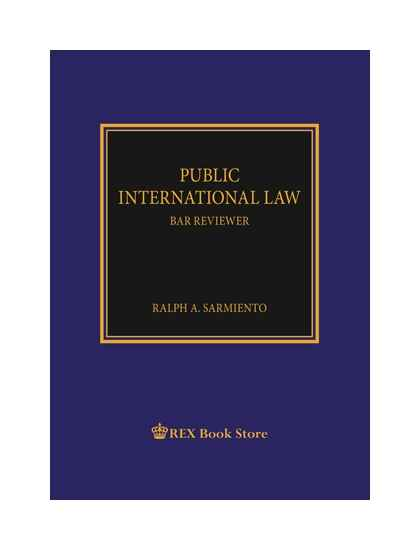 Public International Law (Bar Reviewer) [Paperbound]