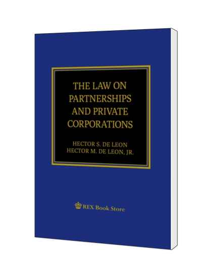 The Law on Partnerships and Private Corporations