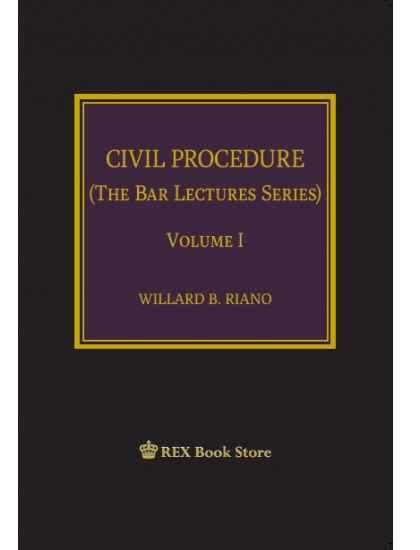 Civil Procedure Vol I (Cloth Bound)
