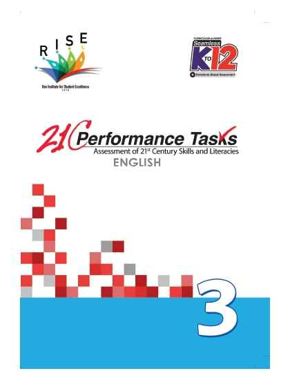 Performance Tasks English 3