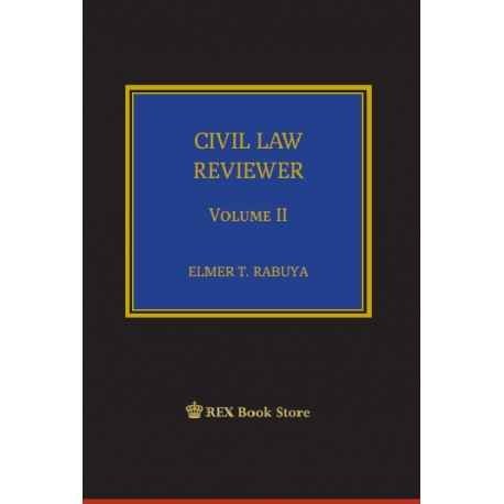 Civil Law Reviewer Volume II (PaperBound)