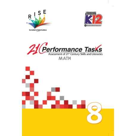 Performance Tasks Math 8