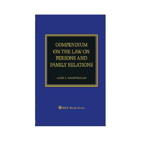 Compendium on the Law on Persons and Family Relations (Paper Bound)