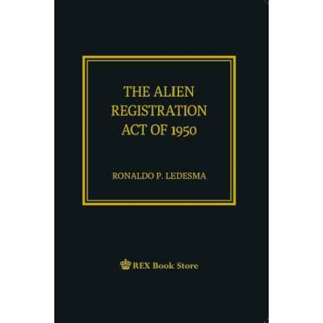 The Alien Registration Act of 1950 (Cloth Bound)