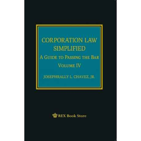 Corporation Law Simplified (Cloth Bound)