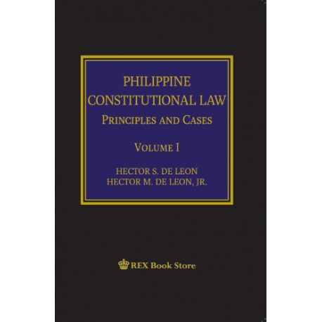 Philippine Constitutional Law Volume I (Cloth Bound)