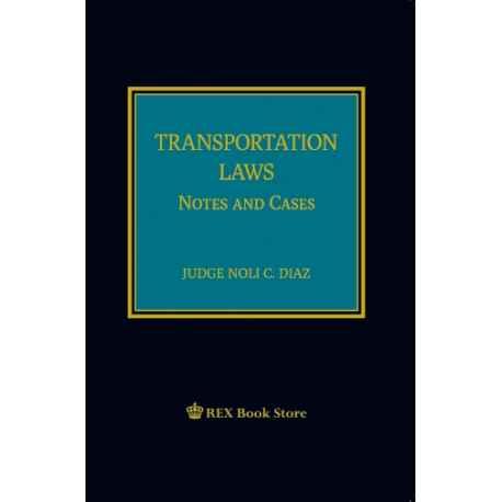 Transportation Laws (Cloth Bound)
