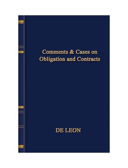 the law on obligations and contracts Art 1159 obligations arising from contracts have the force of law between the  contracting parties and should be complied with in good faith (1091a) art 1160.