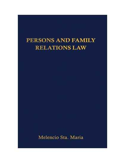 Persons and Family Relations Law