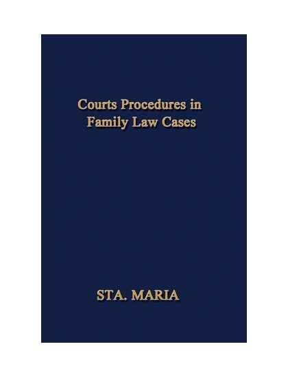 Court Procedures in Family Law Cases