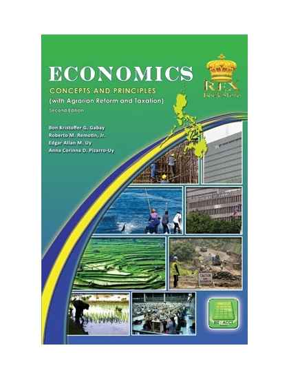Economics: Its concepts and Principles (with Agrarian Reform and Taxation