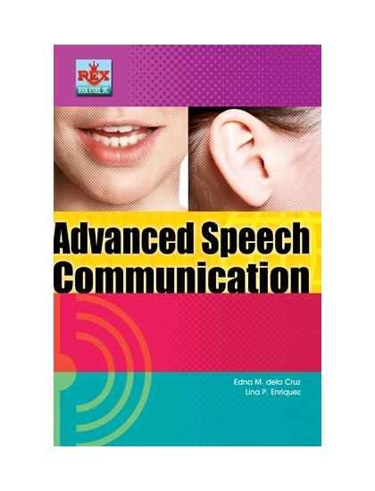 Advanced Speech Communication