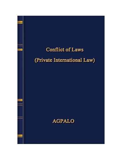 Conflict of Laws (Private International Law)