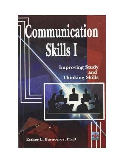 Communication Skills I: Improving Study and Thinking Skills