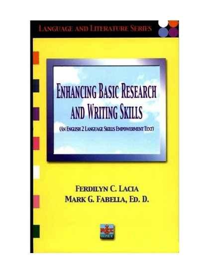Enhancing Basic Research and Writing Skills