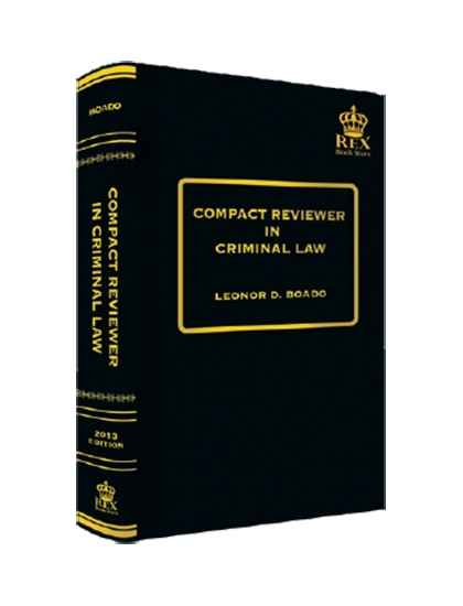Compact Reviewer in Criminal Law