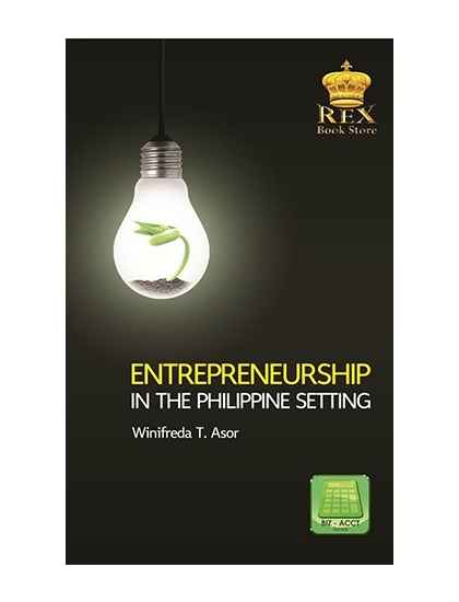 Entrepreneurship in the Philippine Setting